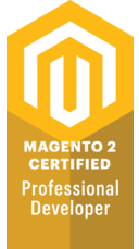 1 x Magento 2 Certified Professional Developer