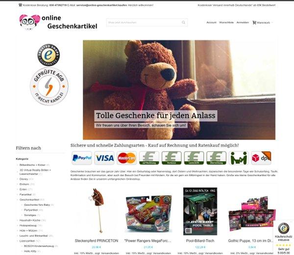 Online-Geschenkartikel.kaufen